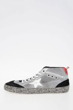 Sneakers MID STAR in Tessuto e Suede