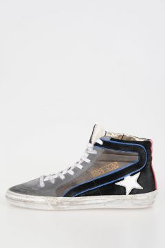 Leather Suede Sneakers