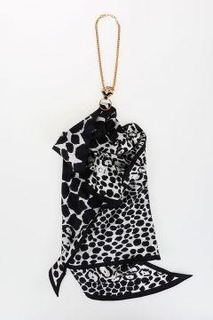 Silk Foulard with Necklace