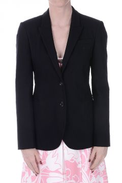 Blazer Monopetto in Cotone Stretch