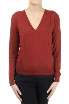 Silk Blended Sweater with Lace