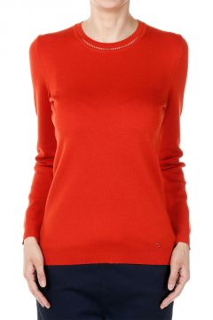Silk and Cashmere Round Neck Sweater