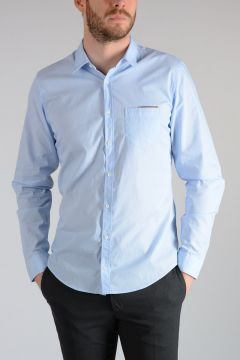 Popeline Cotton SKINNY Shirt