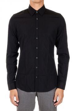 Camicia Slim Fit in Cotone