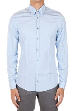 Camicia Slim Fit in Cotone