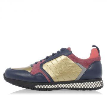 Sneakers in Pelle e Camoscio