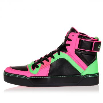 Sneakers Alte FLUO MATT in Pelle
