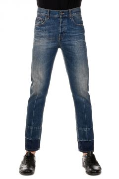 Denim 5 Pockets Selvedge Jeans 17 cm