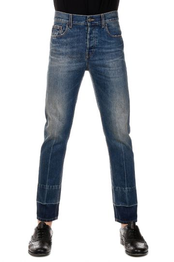 Jeans cimosa  in Denim 5 Tasche 17 cm