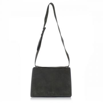 Suede Messengere Leather Bag