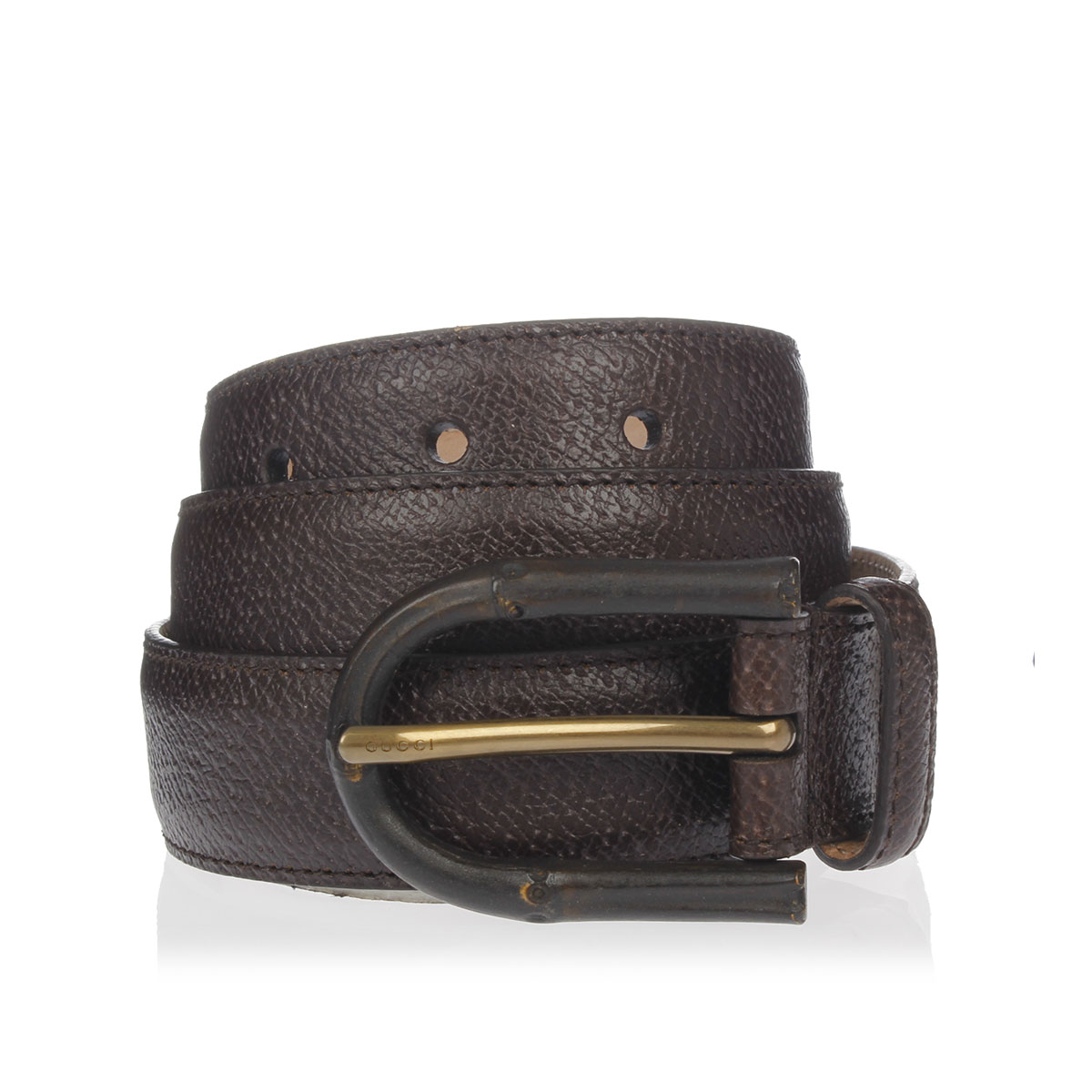 8d3fcbc378 Gucci Uomo Cintura in Pelle - Glamood Outlet