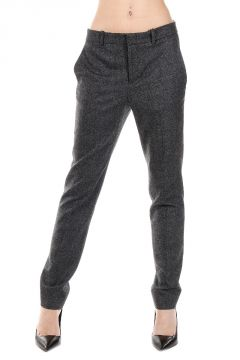 Wool and Cashmere Flannel Pants