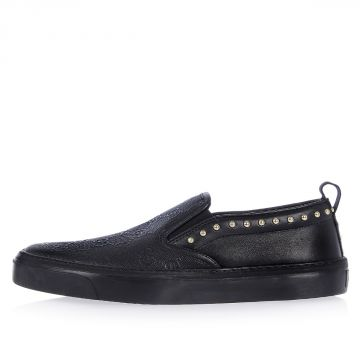 Leather HILARY LUX GG Slip On Sneaker