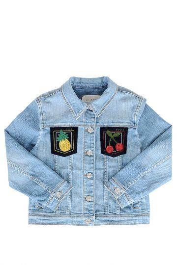 Denim Embroidered Jacket