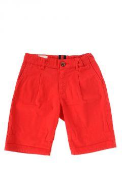 Pantalone a Bermuda In Cotone