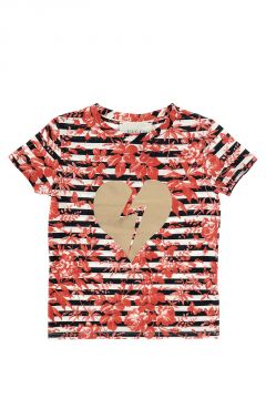 Round Neck T-shirt Printed
