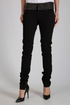 14cm Studded Denim Stretch Jeans