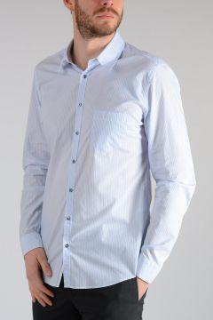 Camicia SLIM in Popeline Di Cotone