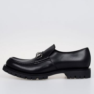 Leather SELLA LUX Loafers