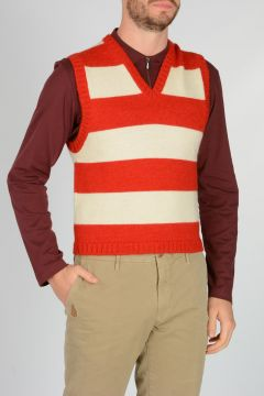 Wool and Alpaca Striped Sweater