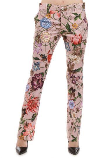 Pantaloni Stampa Floreale