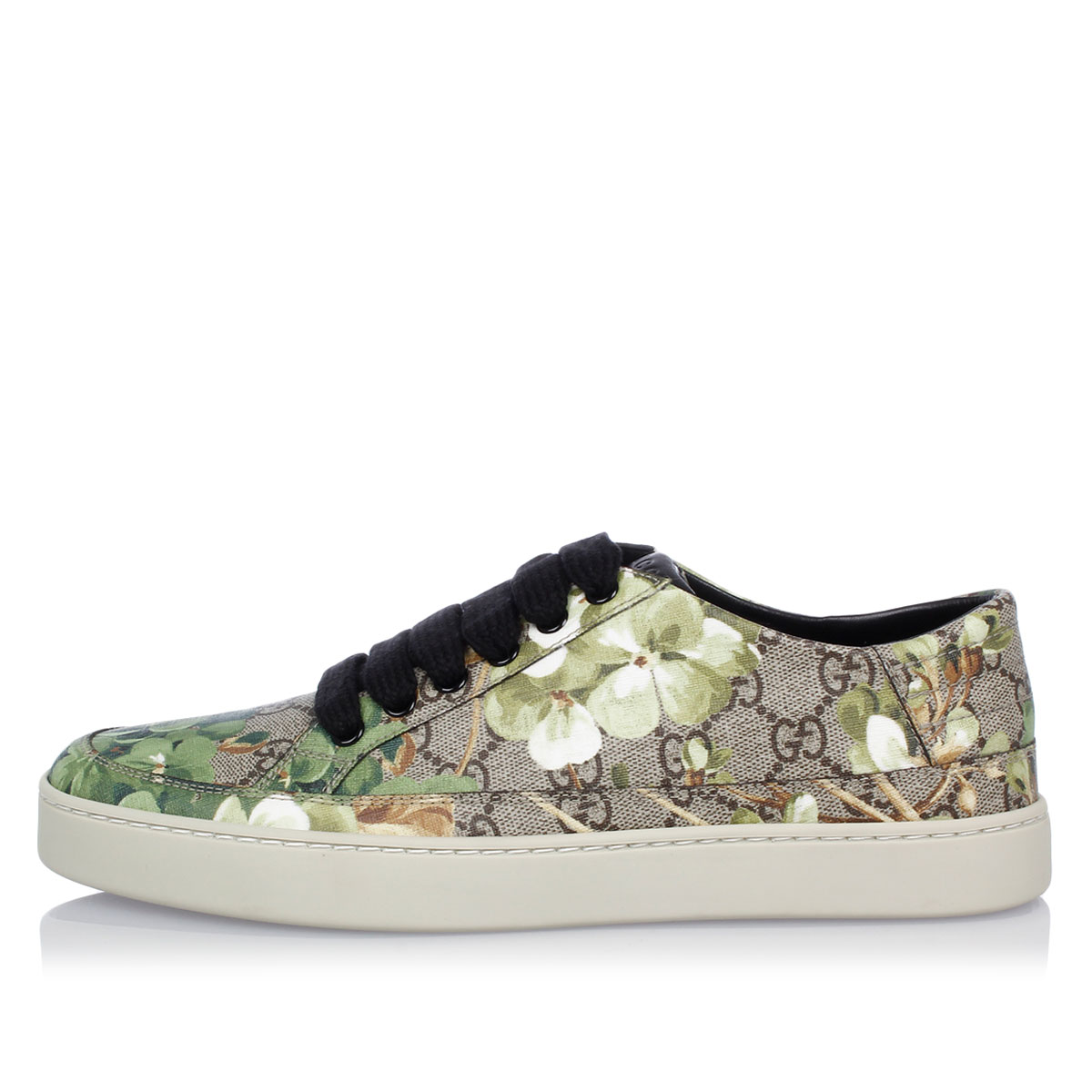 gucci shoes for men low tops. gg blooms low-top sneakers gucci shoes for men low tops