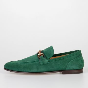 Suede Leather QUEEN Loafers