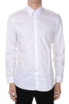 Popeline Cotton Shirt Diamante