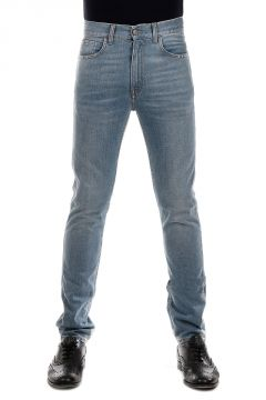 16 cm Denim Jeans with Délavé Effect on the Ankle