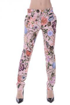 Pantalone A Fiori in cotone