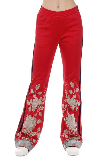 Embroidered Tracksuit Bottom