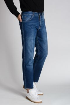Jeans in Denim Stonewashed 20 cm
