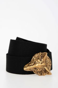 35 mm Stretch Fabric Belt with Decorative Buckle