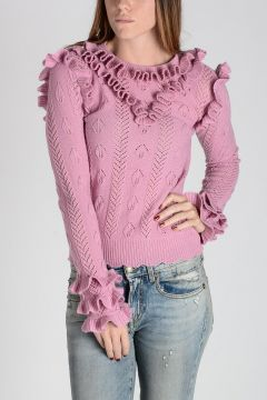 Wool Sweater With Details