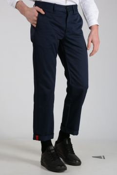 Cotton Pants with Embroidery