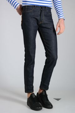 17cm Denim Stretch Jeans with Tiger Detail