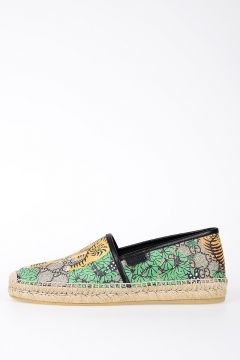 Fabric Leather Espadrillas