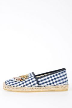 Fabric Checked Espadrillas