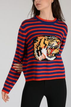 Wool Tiger Sweater