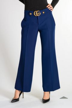 Silk wool Pants