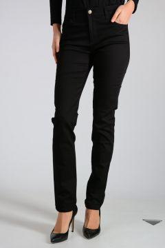 Pantalone in Misto Cotone Stretch