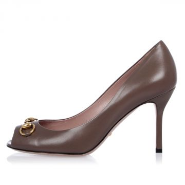 Leather Pumps Shoes 9 cm Heel