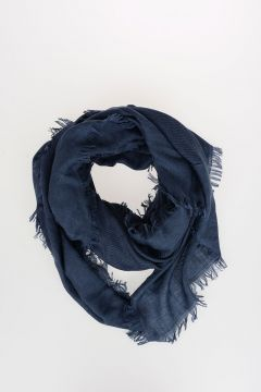 Silk and Wool Scarf 130x130 cm