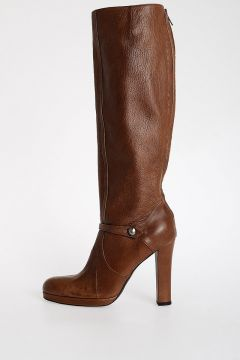 11cm Leather Boots