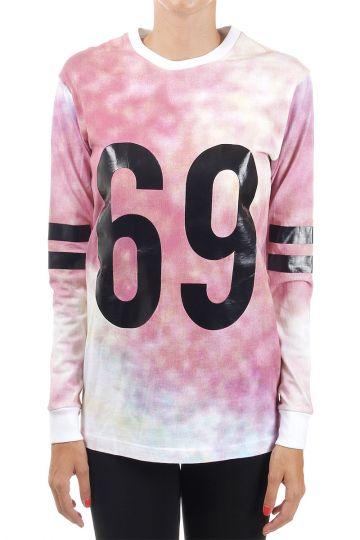 "Felpa stampa ""69"""