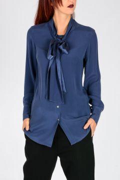 VIOLINO Silk Blend Blouse