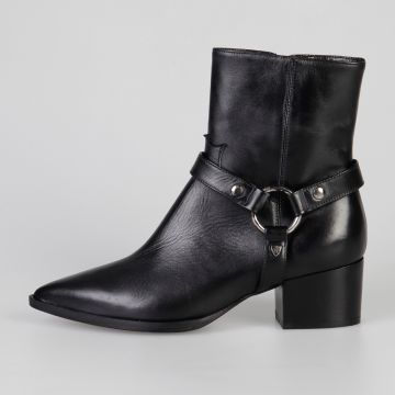 5 cm Suede Ring Boots