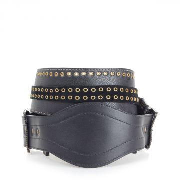 Cintura in Pelle con borchie