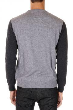 Merino Wool and Cashmere H-ROBOT Sweater