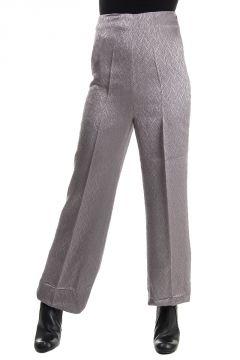 Pantalone Scampanato Misto Lana